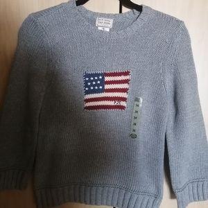 ** Price Drop**NWT Ralph Lauren USA sweater